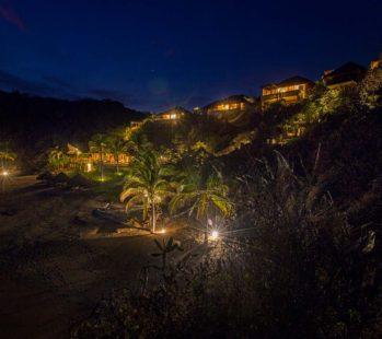 Montecito at night