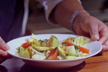 Salad at Cala Club