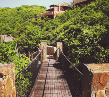 A bridge walkway at Montecito