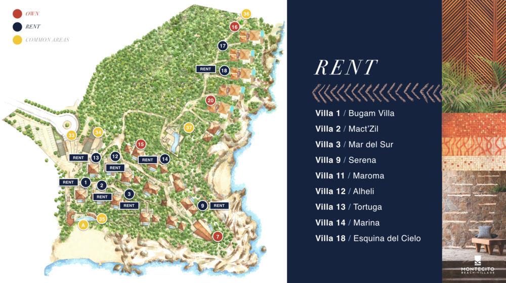The Montecito Rental Map