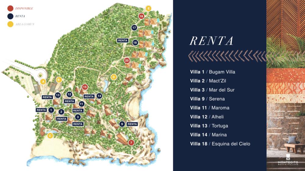 Las Villas de renta de Montecito
